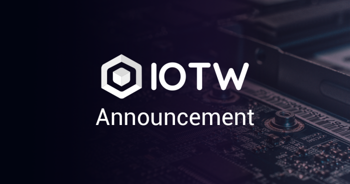 IOTW Announcement